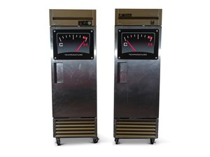 True Heated Cabinet and Refrigerator For Sale by Auction