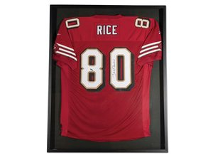Jerry Rice San Francisco 49ers Autographed Jersey For Sale by Auction