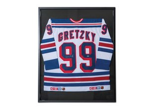 Wayne Gretzky New York Rangers Autographed Jersey For Sale by Auction