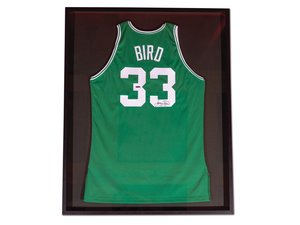 Larry Bird Boston Celtics Autographed Jersey For Sale by Auction