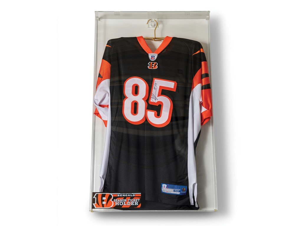Chad Johnson Cincinatti Bengals Autographed Jersey For Sale by Auction (picture 1 of 1)