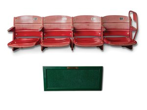 Cinergy Field Astroturf and Stadium Seats, 101-104 For Sale by Auction