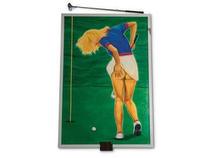 Scratch Golf by Rick Hinze, 2001 For Sale by Auction