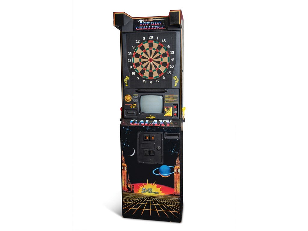 Galaxy Electronic Dart Board by Arachnid For Sale by Auction (picture 1 of 1)