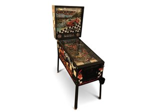 Checkpoint with Turbo-Boost Pinball Machine by Data East For Sale by Auction