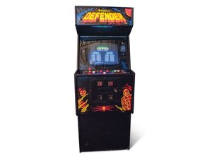 Defender Arcade Game by Williams For Sale by Auction