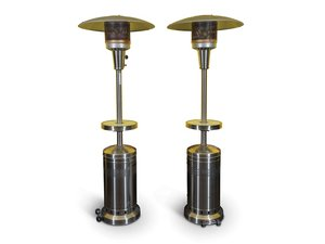 Pair of Outdoor Space Heaters For Sale by Auction