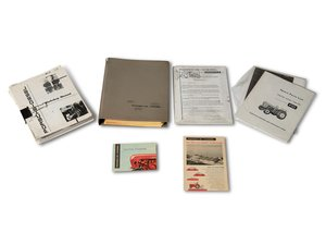 Porsche-Diesel Brochures and Service Manual For Sale by Auction