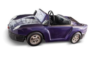 Porsche-Style Kiddie Ride by Elektro-Mobiltechnik For Sale by Auction