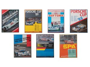 Porsche 962 C Racing Framed Posters For Sale by Auction
