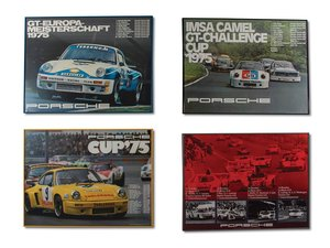 Porsche Racing Posters, c. 1970s For Sale by Auction