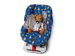 Porsche Convertible Car Seat with Teddy Bear For Sale by Auction