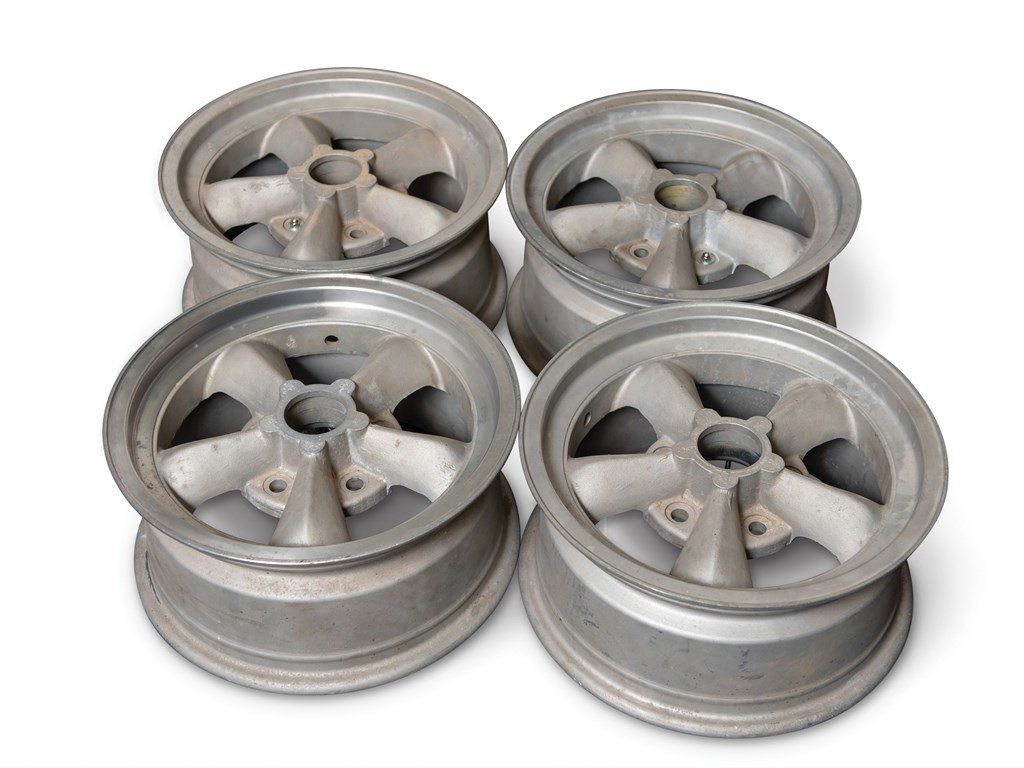 Set of Four Torq Thrust Wheels For Sale by Auction (picture 1 of 1)
