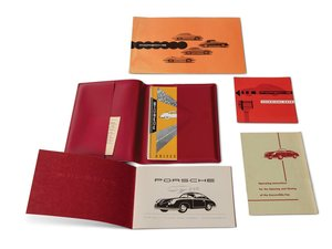 Porsche 356 A Drivers and Maintenance Manuals and Pouch For Sale by Auction