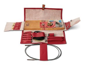 Porsche 356 Roadside Tune-Up Kit (Red) For Sale by Auction