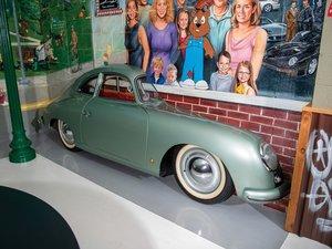 Porsche 356 Passenger Side Display