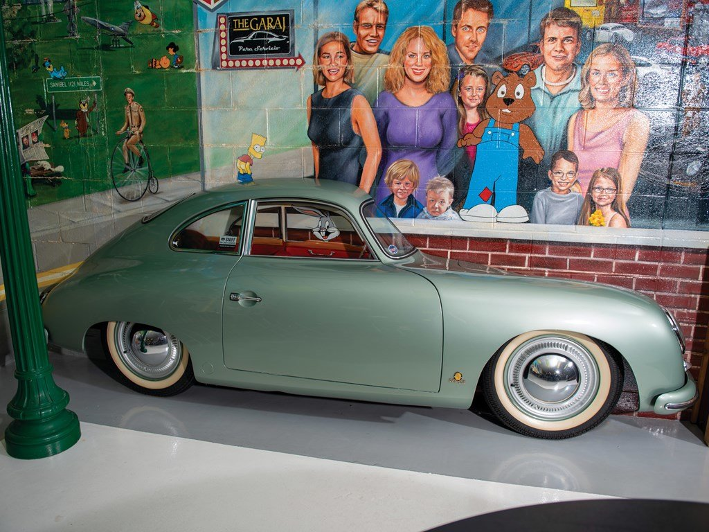 Porsche 356 Passenger Side Display For Sale by Auction (picture 3 of 3)