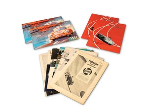 Porsche 356 Carrera and 550 Spyder Brochures and Articles For Sale by Auction