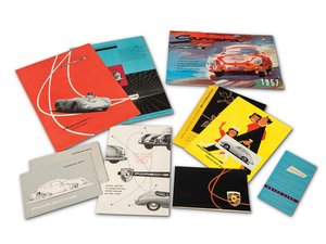 Porsche 356 and 550 Spyder Brochures For Sale by Auction