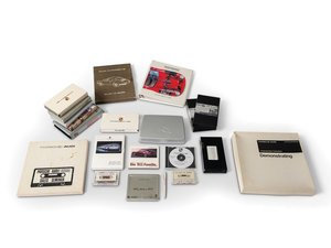 Porsche Sales Training Literature, Records and Cassette Tape For Sale by Auction