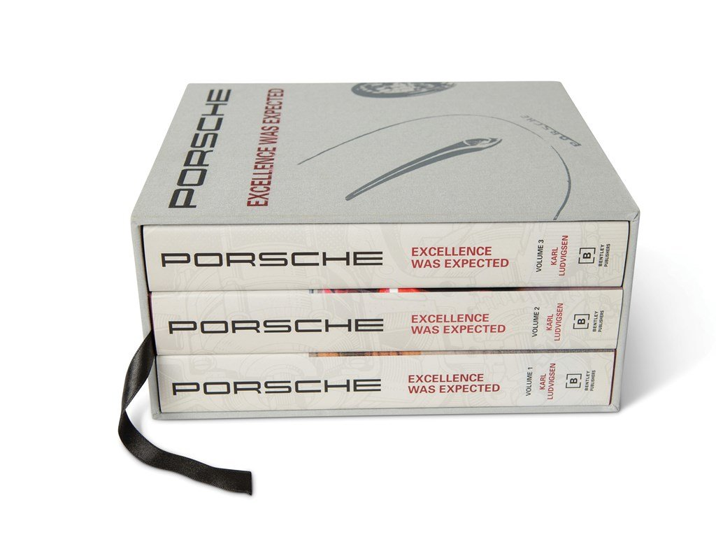 Porsche Excellence Was Expected by Karl Ludvigsen, Three-Vol For Sale by Auction (picture 1 of 3)