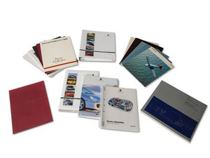 Porsche Press Information Kits For Sale by Auction