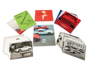 Porsche Brochures and Press Photographs For Sale by Auction