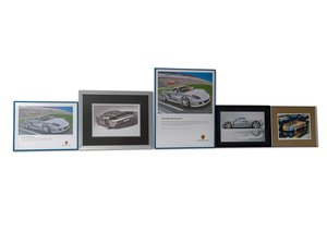 Porsche Carrera GT Artwork For Sale by Auction