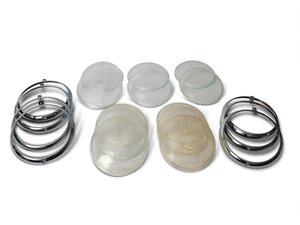 Bosch and Hella Headlight Lenses and Trim Rings For Sale by Auction