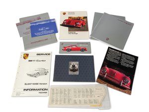 Porsche 911 Carrera and Turbo Sales Literature For Sale by Auction