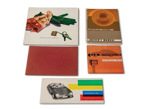 Porsche 356 B Drivers and German Maintenance Manuals For Sale by Auction