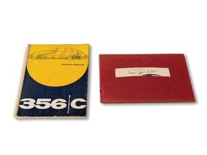 Porsche 356 C Drivers Manual with 356 Maintenance Manual For Sale by Auction