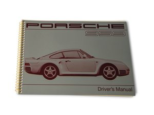 Porsche 959 Drivers Manual For Sale by Auction
