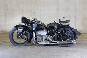 1937 Zündapp K 800 side-car           For Sale by Auction