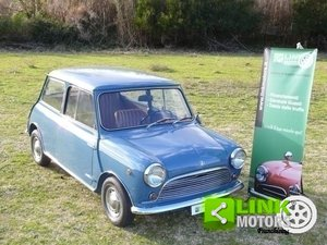 1967 Mini 850 MK1 Leva Lunga TARGA ORO ASI For Sale