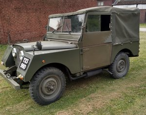 "Land Rover / Minerva Series 1 80""  1952"
