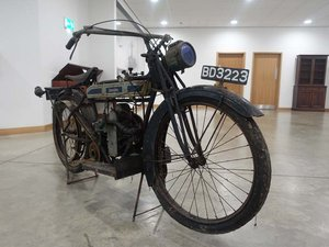 1921 Douglas WD21 Motorcycle for restoration
