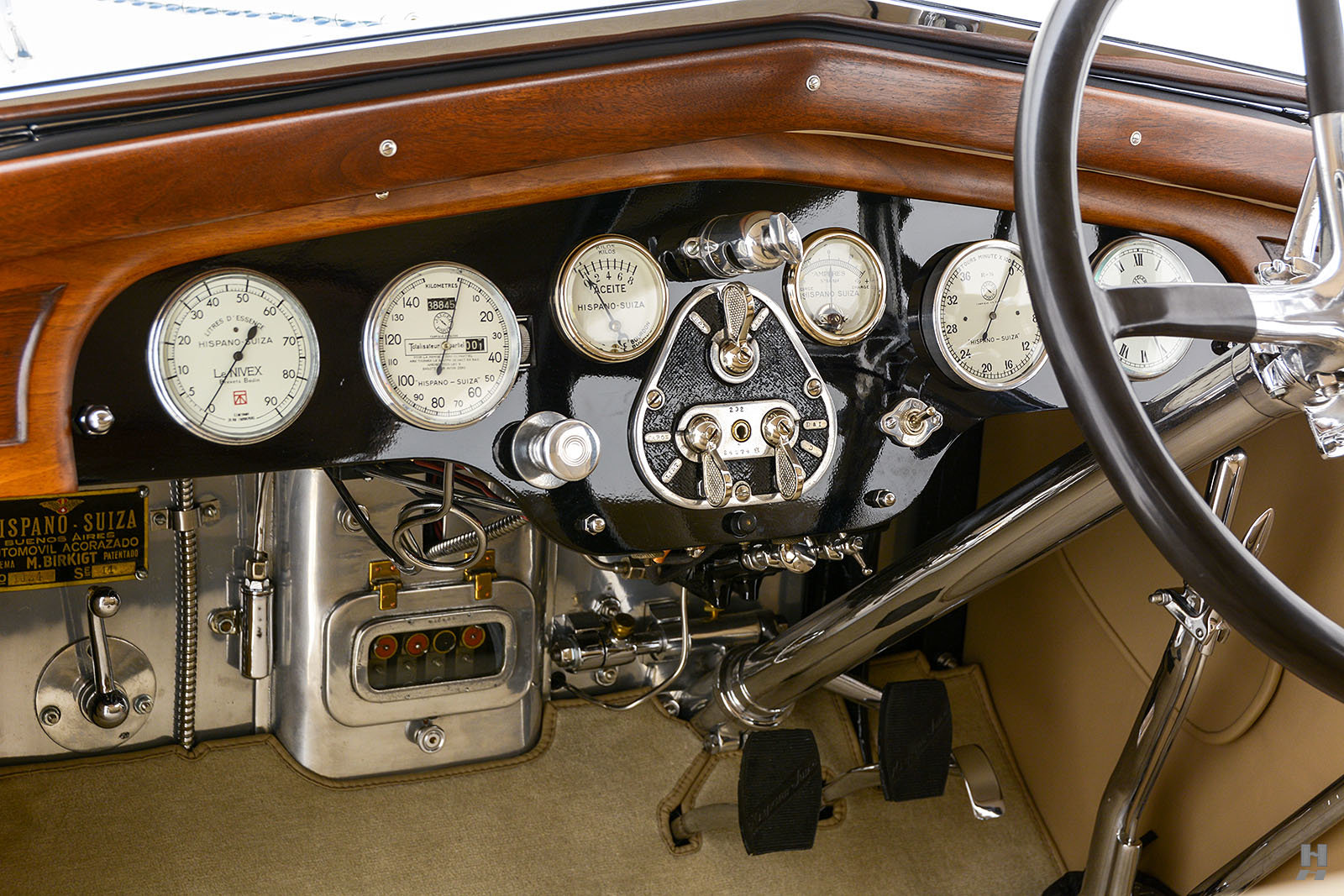 1928 Hispano-Suiza T49 Tourer For Sale (picture 6 of 6)