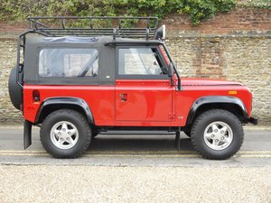 1994 Land Rover Defender    90 NAS Soft-Top -  Model Year Can
