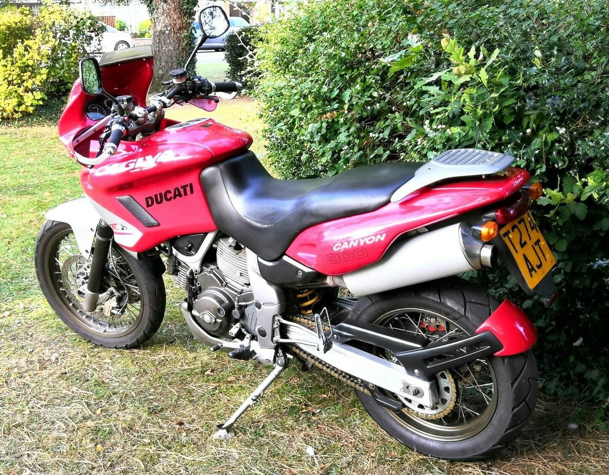 1999 Cagiva Gran Canyon 900 Ducati VTwin 25,850 Miles VGC PX Swap For Sale (picture 4 of 6)