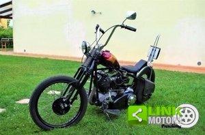 Harley-Davidson Replica Knucklehead Chopper - Autocostruita