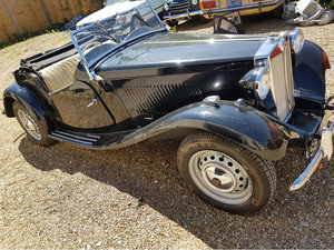 1953 MG TD For Sale by Auction