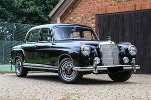 1959 Mercedes-Benz 220 S Ponton For Sale by Auction