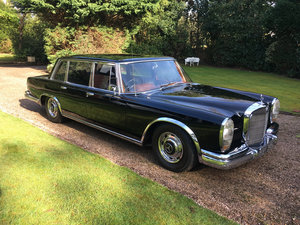 1965 Mercedes- Benz 600 SWB