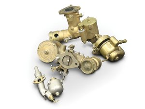 Brass Carburetors, including Kingston and Rayfield For Sale by Auction