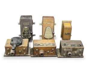 Coil Boxes, including Atwater Kent and K-W For Sale by Auction