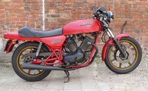 1982 Moto Morini 500, 478 cc.