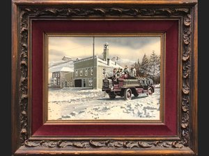 McCleary Fire Dept, 1915 by Ken Eberts For Sale by Auction