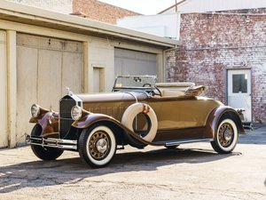 1929 Pierce-Arrow Model 125 Roadster  For Sale by Auction