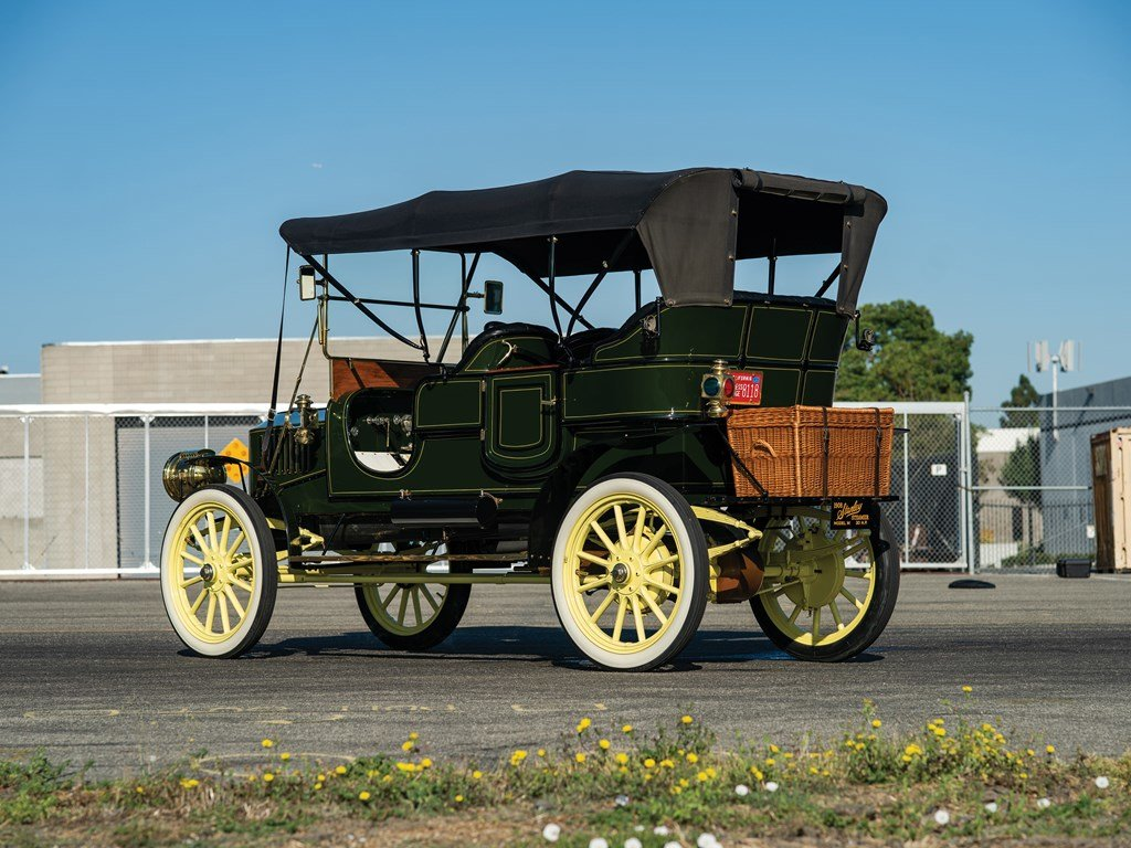 1908 Stanley Model M Five-Passenger Touring  For Sale by Auction (picture 2 of 6)